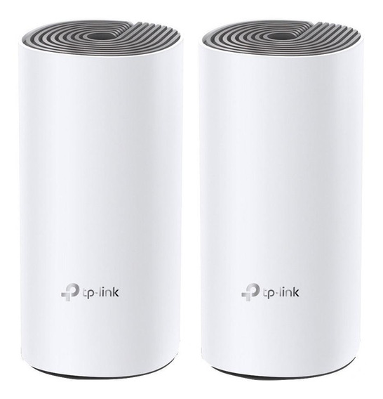 Access point, Roteador, Sistema Wi-Fi mesh TP-Link Deco E4 (2-pack) branco