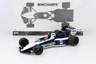 1/18 Nelson Piquet Brabham Bt52 Campeao Do Mundo Senna Carro