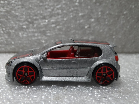 Volkswagen Golf Gti Prata - Hot Wheels 2013 Loose