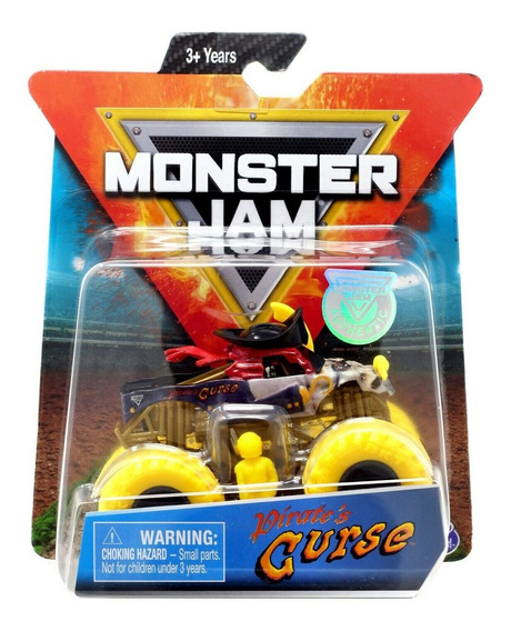 Monster Jam Truck - Pirate´s Curse - Escala 1:64 - Original