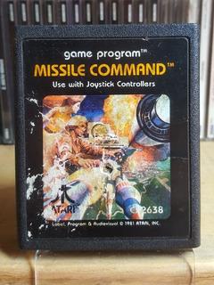 Missile Command Para Atari 2600 !juego Super Emblematico!