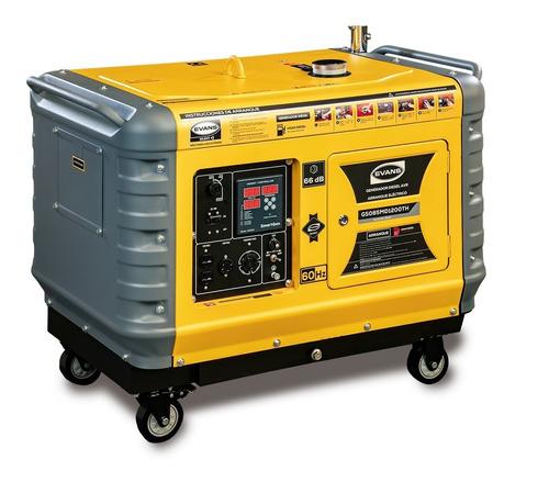 Imagen 1 de 1 de Generador Silencioso Monofasico 8.5 Kw Motor Diesel Thuder