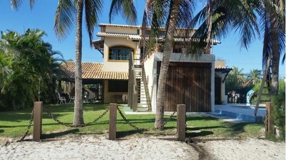 Excelente Casa Em Condomínio Com 4 Quartos, Piscina, Churrasqueira E Lagoa Particular - 326