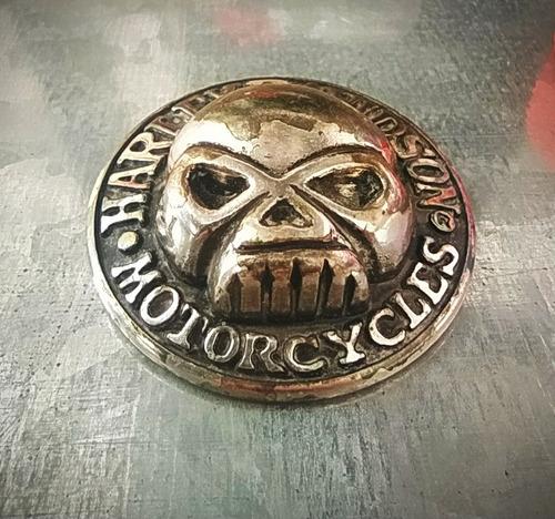 Imagen 1 de 5 de Harley Davidson Aplique Moto Calavera