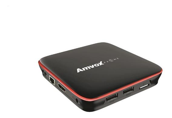 Tv Box Amvox Atv 108 Hdmi Wifi Android 7.1.2 Controle Remoto