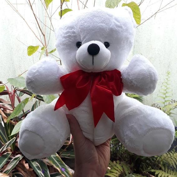 Ursinho Urso 30cm Com Gravata Pelúcia Presente Para Namorada
