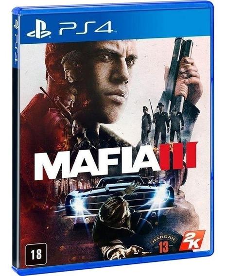 Mafia Iii 3 - Jogo Para Ps4 Original - Midia Fisica Lacrado