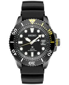 Relógio Seiko Padi Prospex Solar Black Sne441