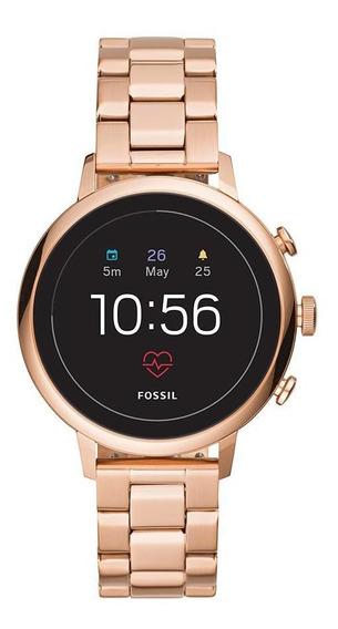 Smartwatch Fossil Generation 4 Feminino Rosé - Ftw6018/1ji