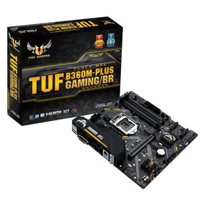 Placa Mãe Asus Tuf B360m-plus Gaming Lga Socket 1151 Ddr4