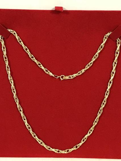 Colar Em Ouro 18k-750, Peso: 7 Gramas, 44,5 Cm