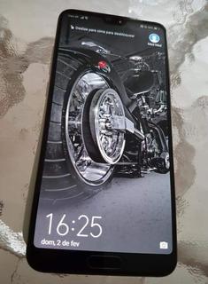 Huawei P20 Pro 128gb, 6 Ram, Trinco Fio Atrás, Só Venda.