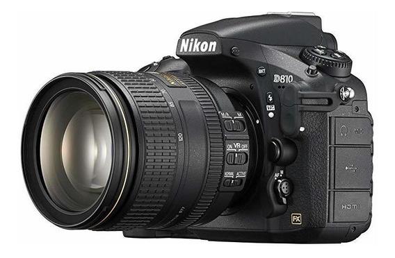 Nikon D810 Fx-format Digital Slr 24-120mm F 4g Ed Vr Lente ®