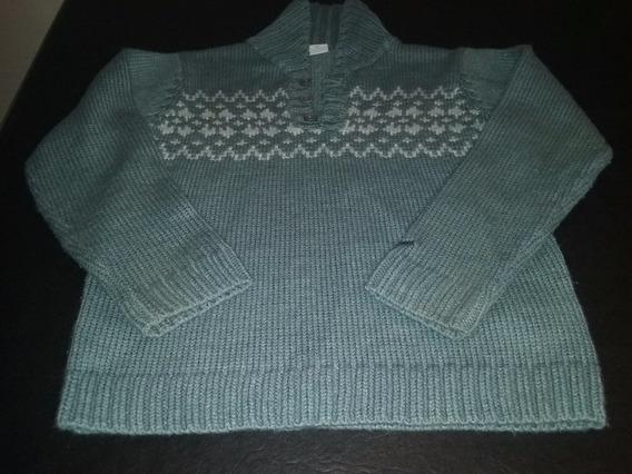 Sweter Niño Lana Checky