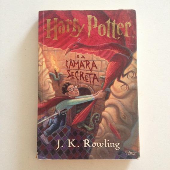 Livro Harry Potter E A Câmara Secreta J. K. Rowling 2000 C2