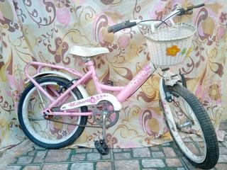 Bicicleta Liberty Sasha Rod.16 Nena Rosado