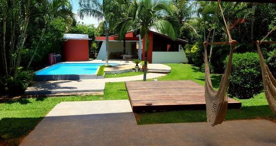 Casa Nova Village Paineiras, 4 Qts, Excelente Área De Lazer