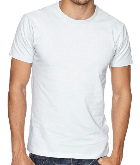 Camisa Lisa Poliéster Blusa Para Sublimação Atacado /50uni
