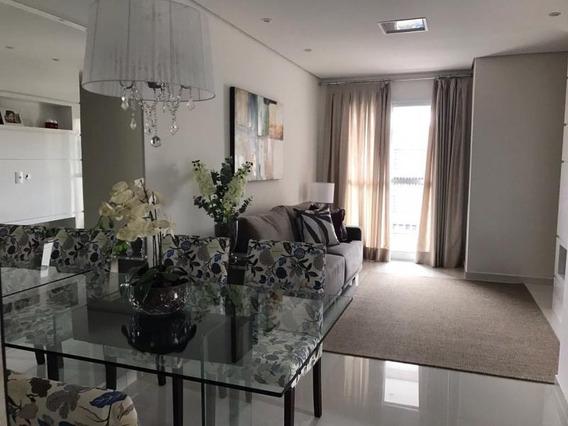 Apartamento A Venda Em Santo Andre, Vila Camilopolis, 3 Dormitórios, 1 Suíte, 2 Banheiros, 2 Vagas - Diva