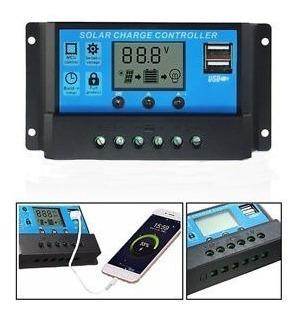 Controlador Carga Solar Eólico 12v 24v 60a Envio Rápido