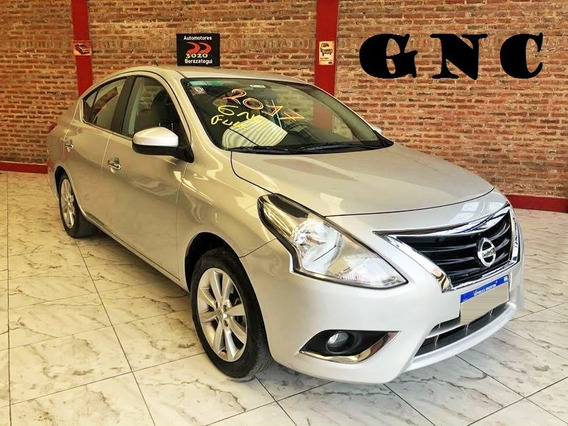 Nissan Versa Advance Pure Drive 2017 Gnc