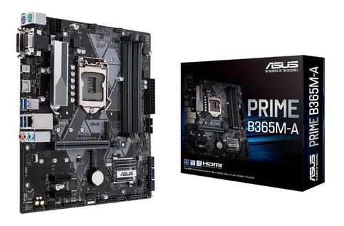 Mother Asus B365m-a Prime Socket 1151 B365 Chipset Hdmi Vga
