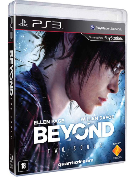 Beyond Two Souls Ps3 Novo Midia Fisica Playstation 3