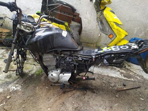 Imagem 1 de 3 de Honda Cg150 Fan Esi 2011 Sucata Somente Peças