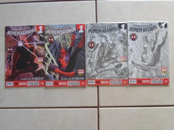 O Espetacular Homem Aranha 4 Hqs Com Edições N° 1 Panini