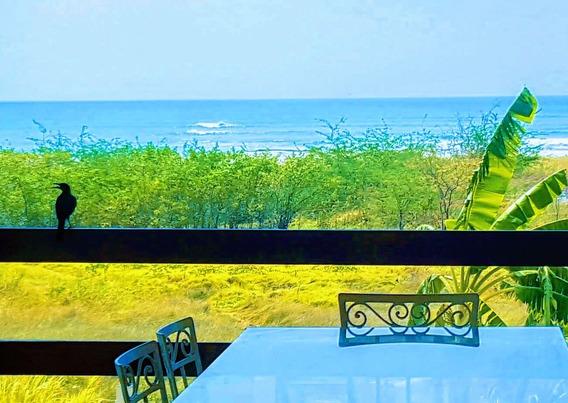 Rebajada!!!frente Al Mar, Amplia, Cómoda Con Gran Terraza.