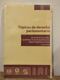 Tópicos De Derecho Parlamentario Armando Alfonso Jiménez