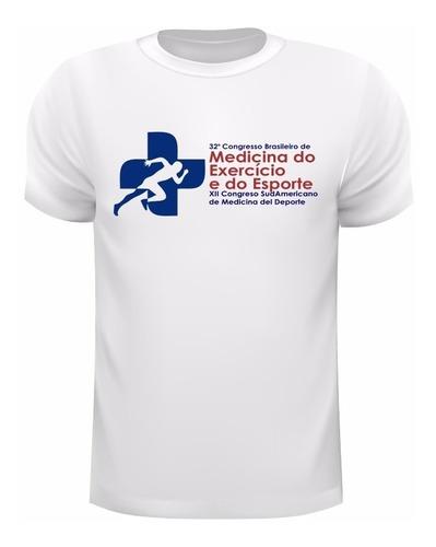 Imagem 1 de 3 de Camiseta Dry Fit De Poliamida  Com Uv50+ Oficial Congresso