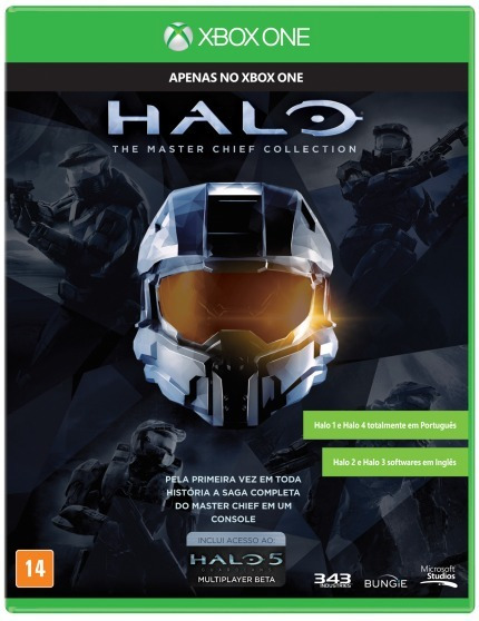 Jogo Halo Master Chief Collection Xbox One Xone Mídia Física
