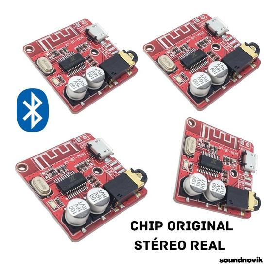 Processador Receptor De Áudio Bluetooth Stéreo Real (4und)