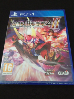 Samurai Warriors 4-ii Ps4 Nuevo Sellado