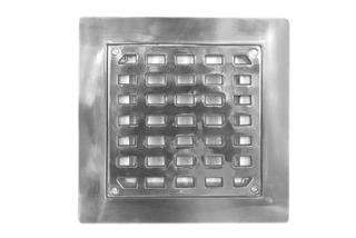 Coladera De Aluminio 30 X 30