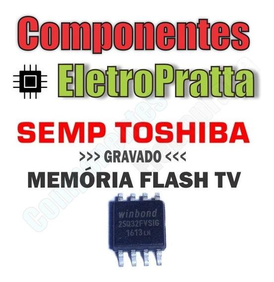 Memoria Flash Tv Semp Le2451(a)fda Gravada - 25q32