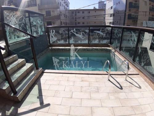 Apartamento Com 1 Dorm, Guilhermina, Praia Grande - R$ 195 Mil, Cod: 4865 - V4865