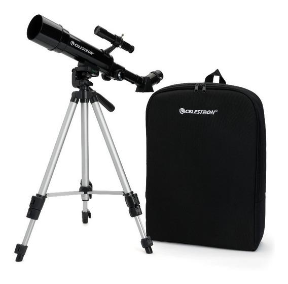 Telescópio Celestron Travel Scope 50 W/backpack