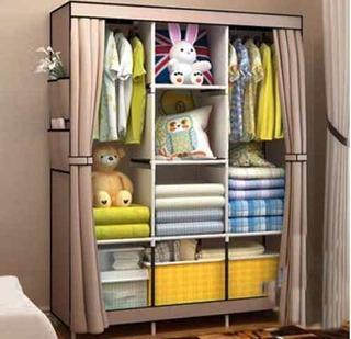 Closet Ropero Armable Tela Yg 05 /128x45x170cm Casaliving