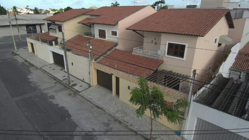 Casa Com 4 Suítes À Venda, 150 M² Por R$ 490.000 - Cidade Dos Funcionários - Fortaleza/ce - Ca0283