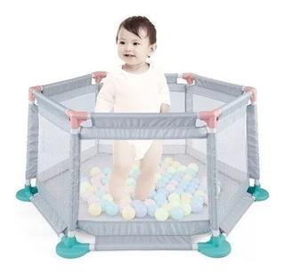 Corralito Cuna Bebe Grande Pelotero Reforzado Cici Babymovil