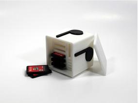 Caixa Note Block Super Mário Nintendo Switch - Porta Jogos