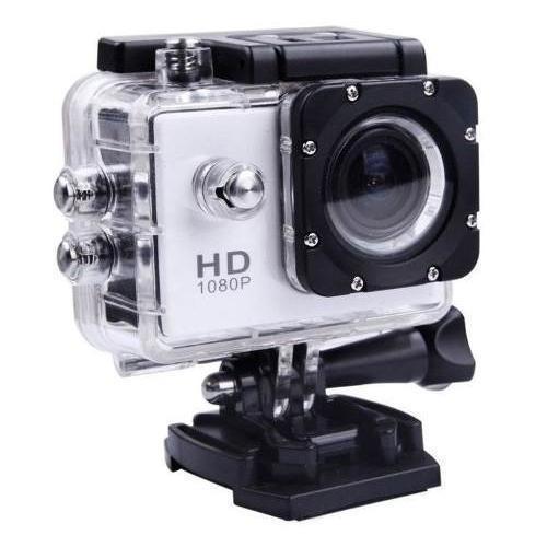 Câmera Filmadora Esportiva - Sports 1080hd - Prata