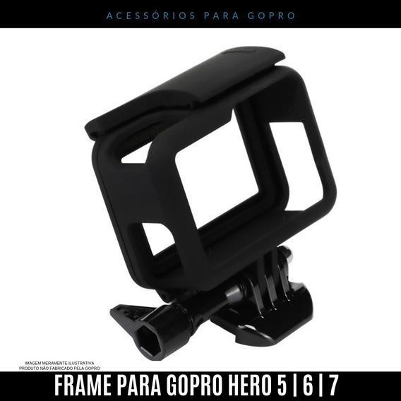 Quadro Case Armação Moldura Frame Para Go Pro Hero 5 6 7
