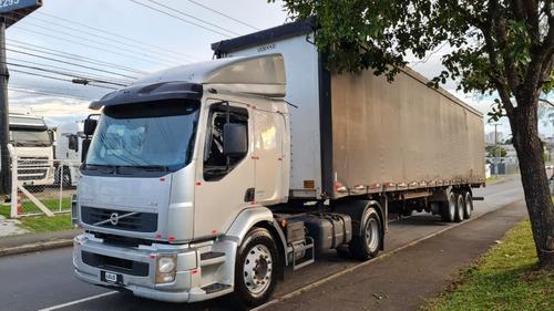 Conjunto Volvo Vm 330 2013 Carreta Sider Randon 2007 28 Plt