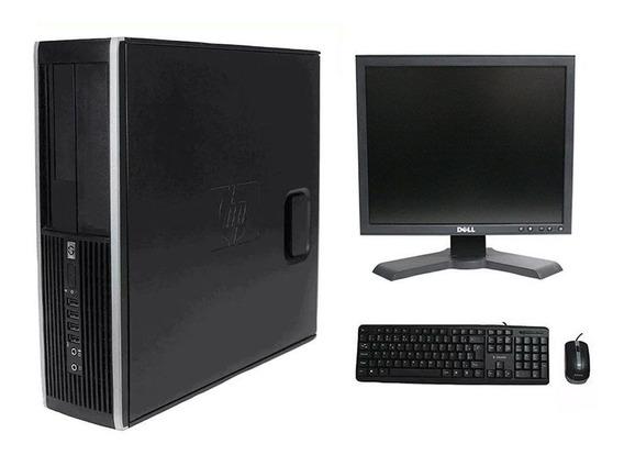 Computador Hp Elite 8200 I7 8gb 120ssd Monitor 17 Polegadas