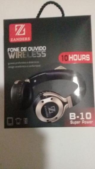 Fone De Ouvido Wireless Sem Fio B-10 Zanders