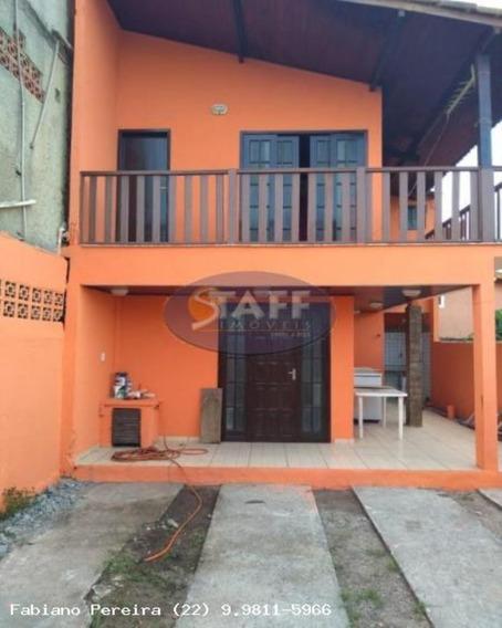Casas 2 Quartos Para Venda Em Cabo Frio / Rj No Bairro Unamar - Ca1299 - 67806217