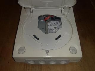 Sega Dreamcast Disco Rigido Sata Modificacion!!!